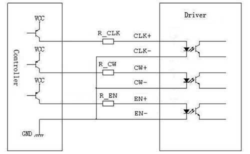 Контроллер шагового двигателя на биполярных