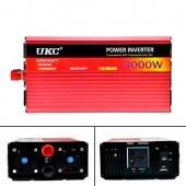 Перетворювач напруги UKC SI-A2-AR3000M DC / AC 3000Вт 12-220В, плавний пуск