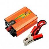 Перетворювач напруги DC / AC авто інвертор 500Вт 12-220В SSK-500W