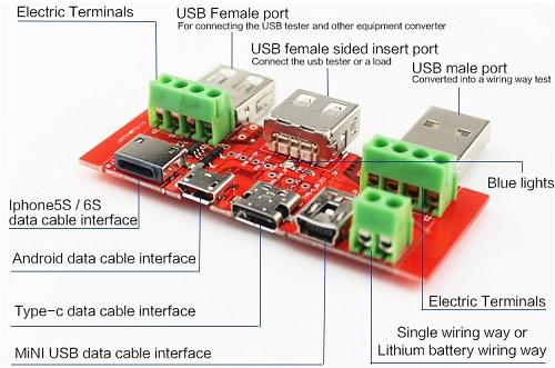 Устройство переходника Multiple Input Switching Board