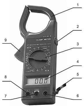 Устройство прибора DT-266