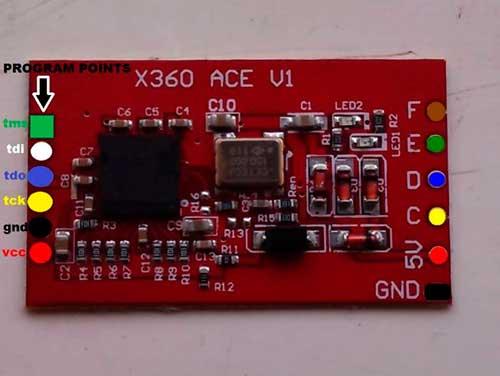 X360 ACE V1 для установки Freeboot Xbox 360 Slim